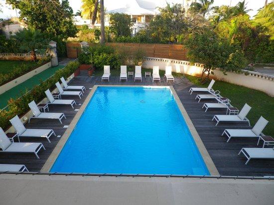 Habitation du Comté : piscine