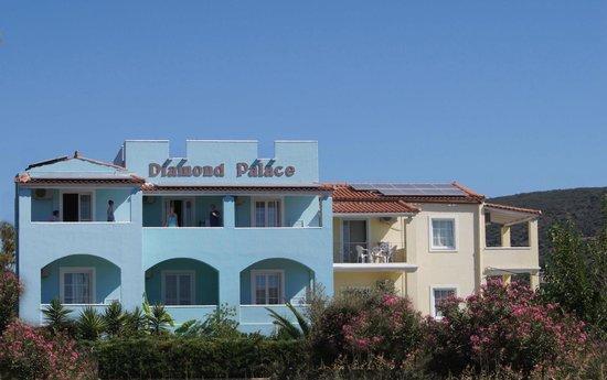 Diamond Palace, outside