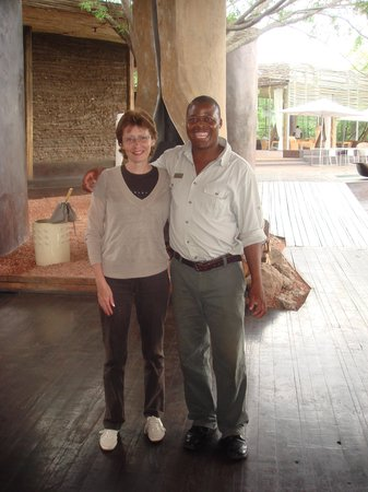 Singita Lebombo Lodge : Best waiter of all time Jeffrey