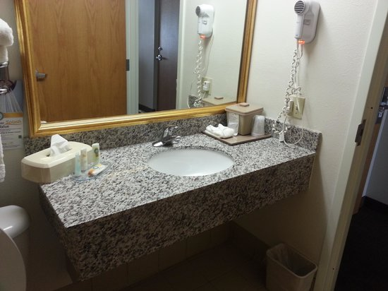 Quality Inn Conference Center Citrus Hills: My bathroom