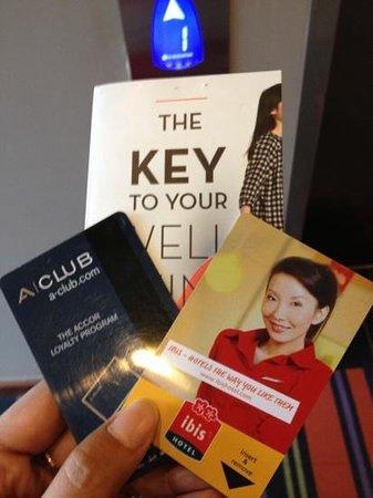ไอบิส สิงคโปร์ โนเวนา: key