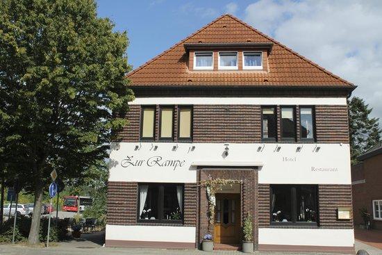 Hotel Zur Rampe : Frontansicht
