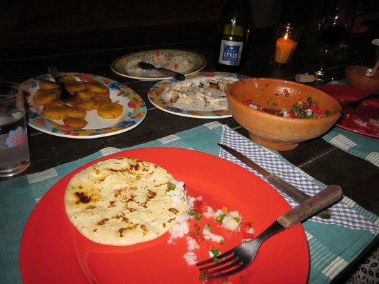Casa Castejon at Finca el Cisne : Cena