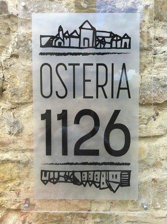 Osteria 1126: FATTORIA DI CINCIANO