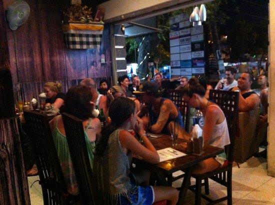 Koko Bar and Restaurant: Diner at koko restaurat