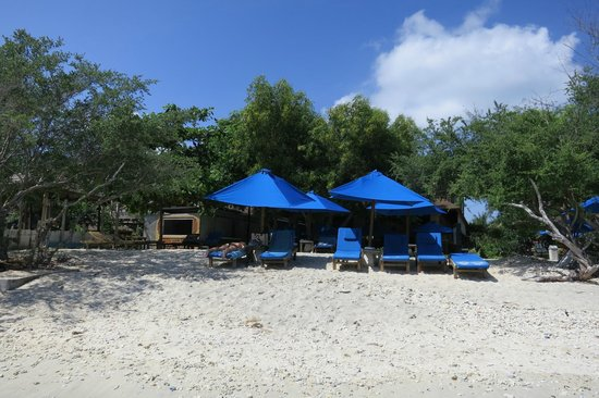Villa Grasia Resort & Spa: small beach