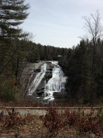 Cedar Mountain, Carolina do Norte: High Falls, DuPont State Forest, NC