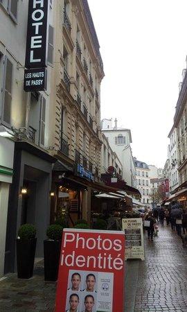 Hotel les Hauts de Passy : Gågaden