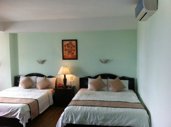 Riverview Hotel: Beds