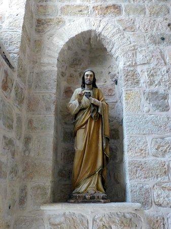 Statue in Knights Palace Hotel, Jerusalem