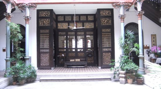 George Town, Malaysia: main internal patio