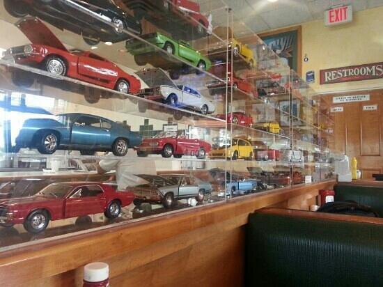 Waffleworks Restaurant: nice for car lovers