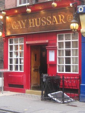 gay hussar restaurant london
