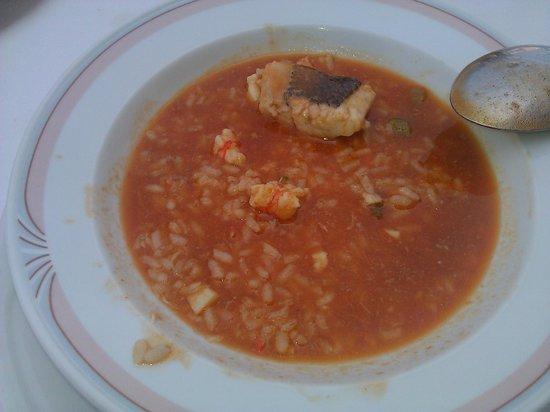 Restaurante El Cenador : ARROZ CALDOSO