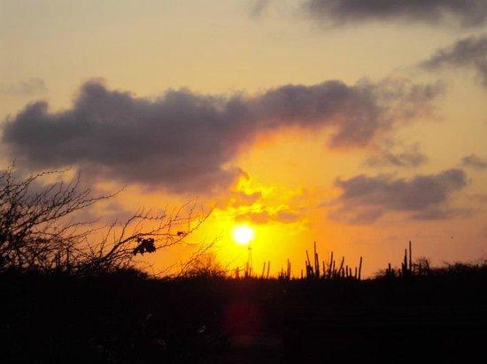Zonsondergang Auriga Ecolodge