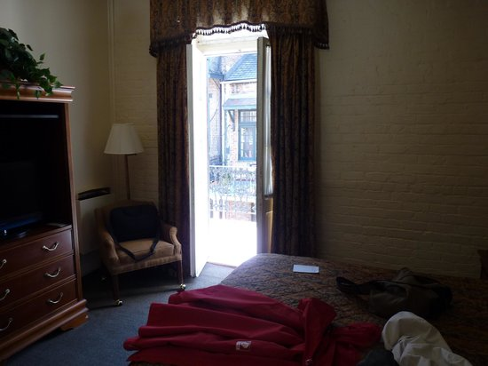 Le Richelieu in the French Quarter : notre chambre 201