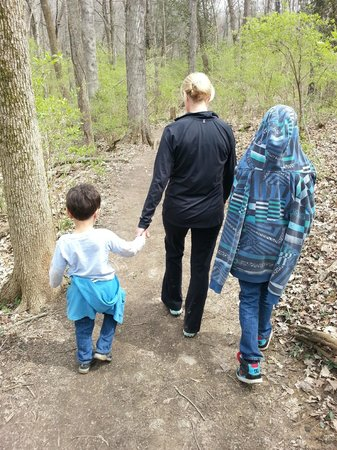 Edwin and Percy Warner Parks: Nice trail hike for the family (bring water!)