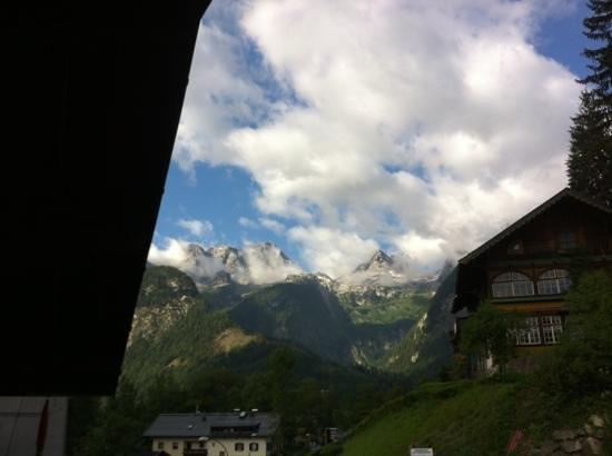 The Farberhaus: utsikten fra terrassen.