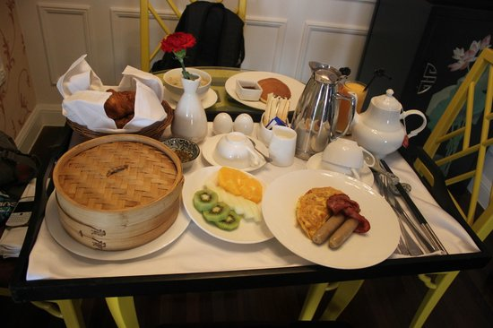 Le Sun Chine: breakfast