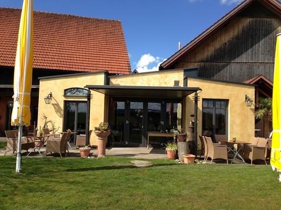 Weinstadl Rimmele: der Wintergarten von außen