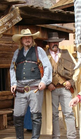 Calico Ghost Town: Attention des bandits sont dehors !