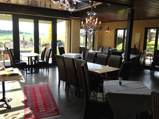 Weinstadl Rimmele: Der mit licht durchflutete Wintergarten
