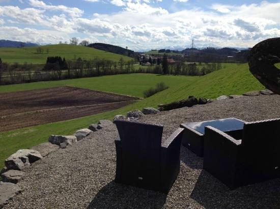 Weinstadl Rimmele: wunderbare Aussicht
