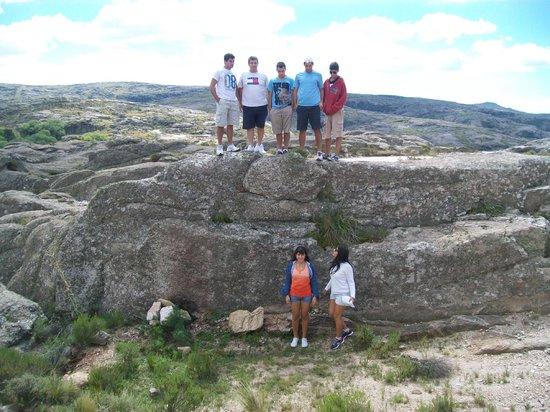 Los Gigantes: pequeño montículo de rocas