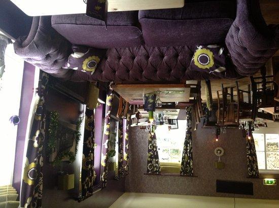 Alston House: The bar and restaurant
