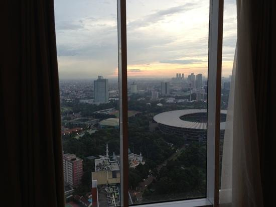HARRIS Suites FX Sudirman: view from level 43