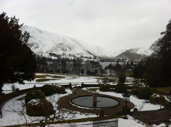 Macdonald Leeming House, Ullswater: the view from the front of the hotel
