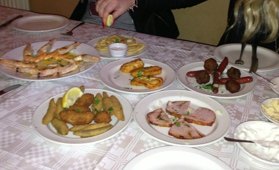 Taste Of Cyprus: 2nd course fish and meat meze