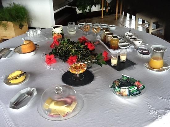 Tropico de Capricornio: petite dejeuner pour 2 vraiment rien a redire