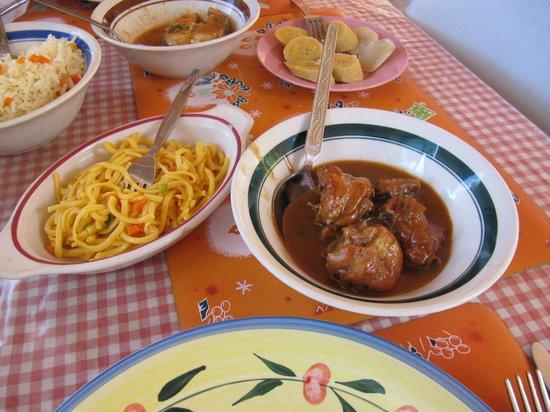 Redmans : Huhn mit Nudeln