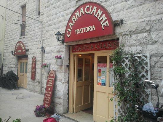 Pizzeria La Credenza Bari : Entrata foto di la cantina cianna cianne bari tripadvisor