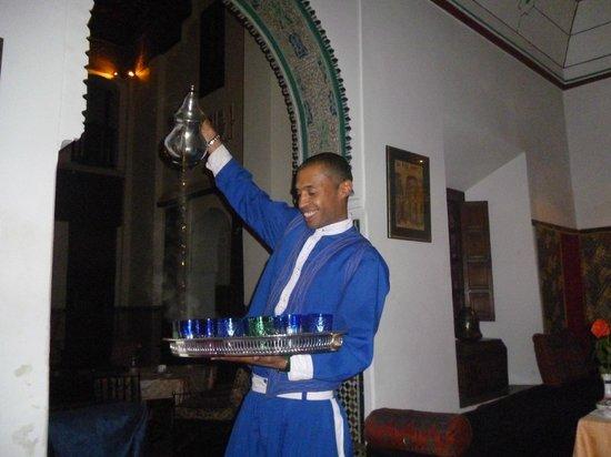 Ksar Es Saoussan : thé