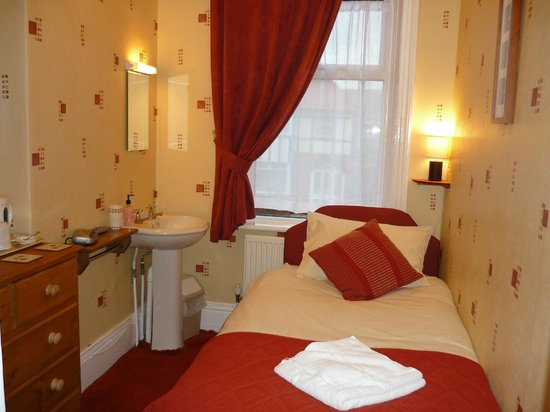 Boulmer Guest House: Room 4 compact single
