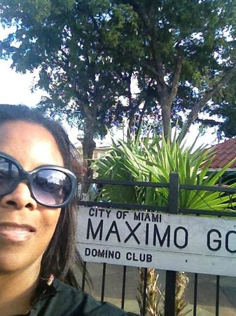 Domino Park directly across the street from Azucar. - Picture of ...