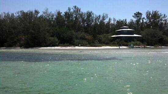 Cortez, Floryda: This is Jewfish Key! Its a private island where you can get off the boat and walk around on the