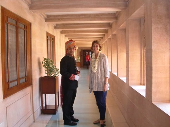 Umaid Bhawan Palace Jodhpur: Way to our Suite