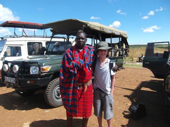 SEMADEP Camp: James meeting us at the Airstrip