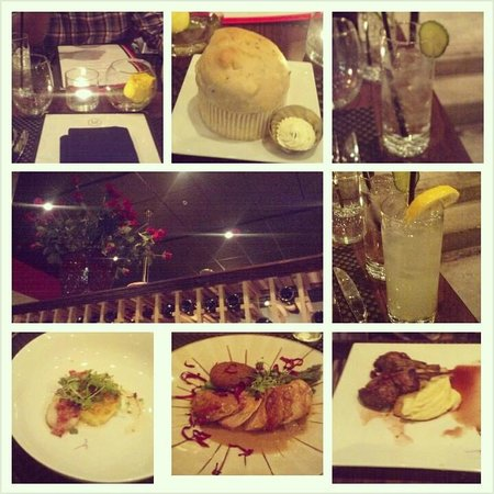 M Bistro and Wine Bar: overall collage
