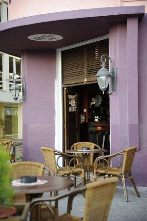 Cafe de Tijd Curacao : Terrace