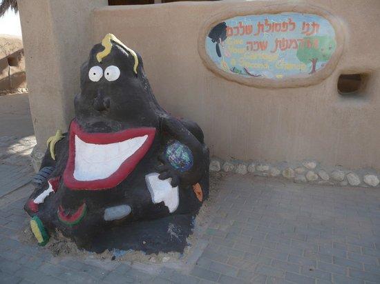 Kibbutz Lotan: Waste collector