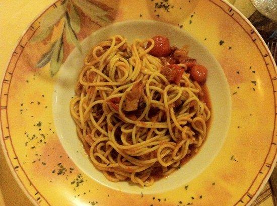 Trattoria da Attilio: Spaghetti di Casa