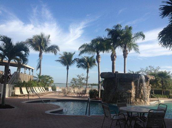Lovers Key Resort : Pool area