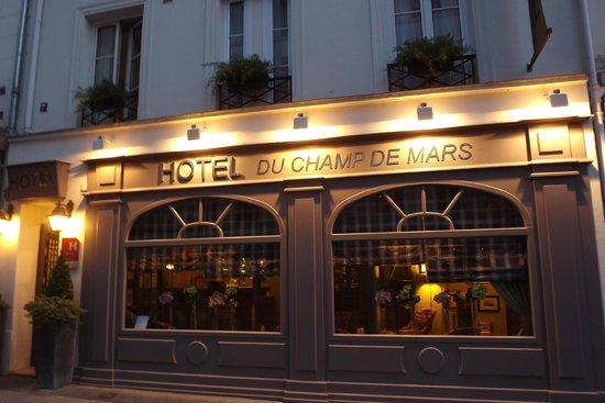 Hotel du Champ de Mars: Hotel