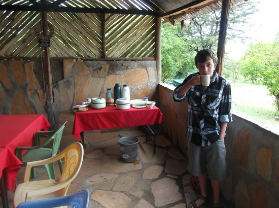 SEMADEP Camp: breakfast