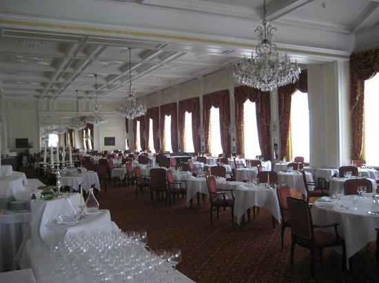 Kulm Hotel St. Moritz: Le Restaurant