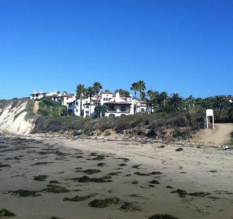 The Ritz-Carlton Bacara, Santa Barbara: View of the Bacara taken from the beach